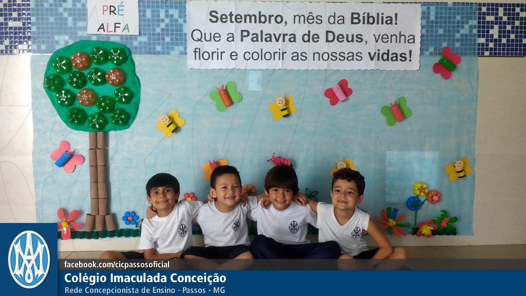 Você está vendo imagens do artigo: Pré: setembro, palavra de Deus colorindo vidas